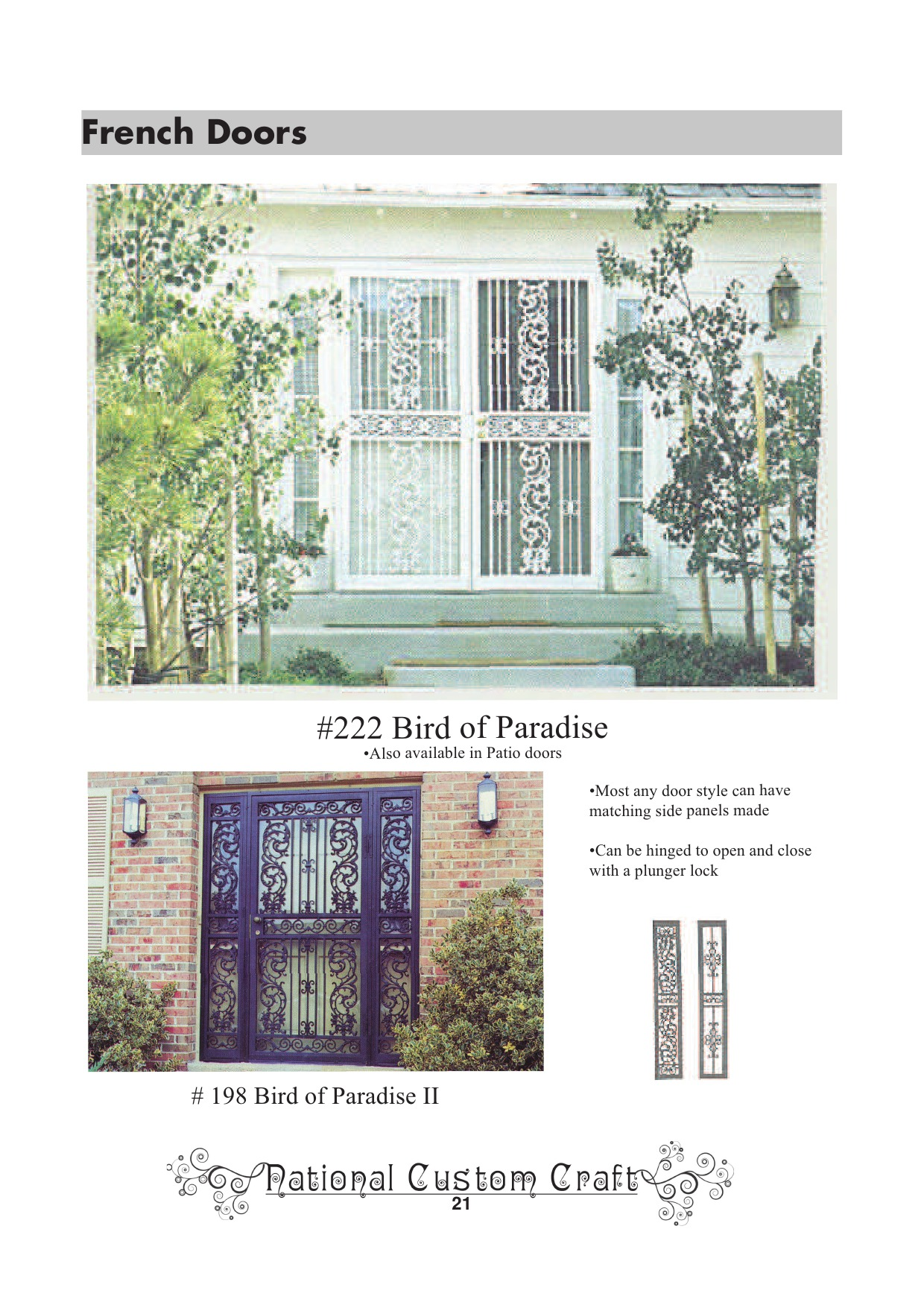 An introduction to the history of ornamental doors inc